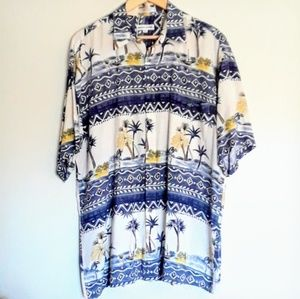 PIERRE CARDIN Island Hawaiian Shirt
